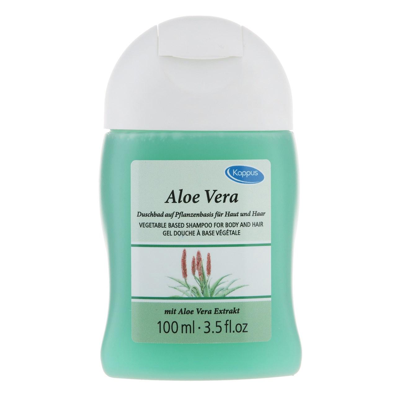 قیمت ژل دوش کاپوس مدل Aloe Vera حجم 100 میل لیتر