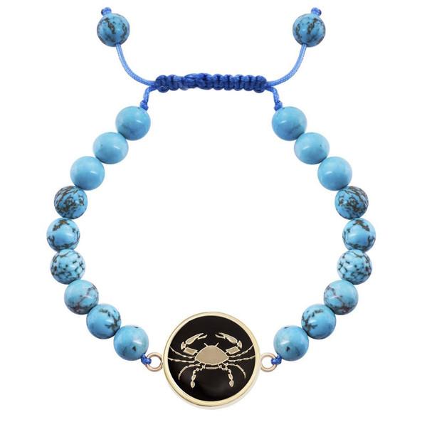 دستبند طلا 18 عیار مرجان مدل 0706