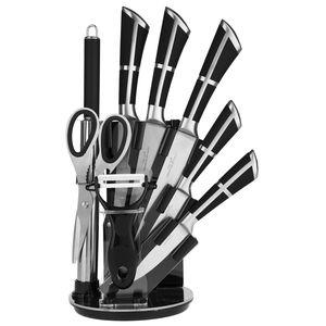 ست چاقوی 9 پارچه هوم لوکس سری کیچن نایف مدل RL-QKS1604