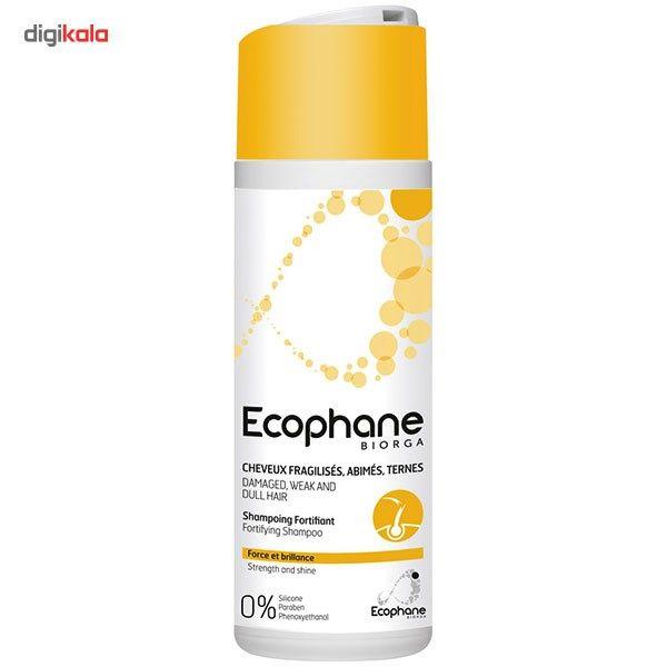 شامپو بایورگا سری Ecophane مدل Fortifying حجم 200 میلی لیتر main 1 1