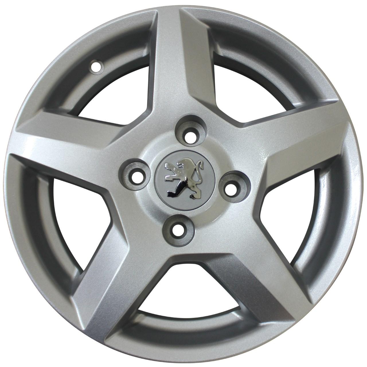 رینگ آلومینیومی چرخ مدل KWR77 سایز 14 اینچ مناسب برای پژو