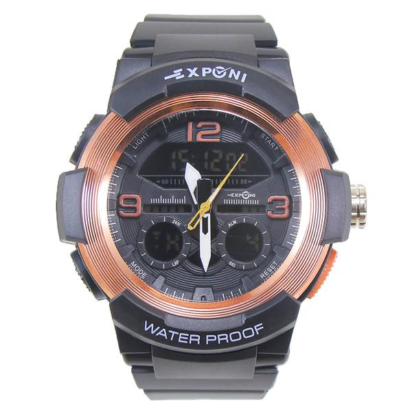 ساعت مچی عقربه ای مردانه اکسپونی مدل 701-arko-rg