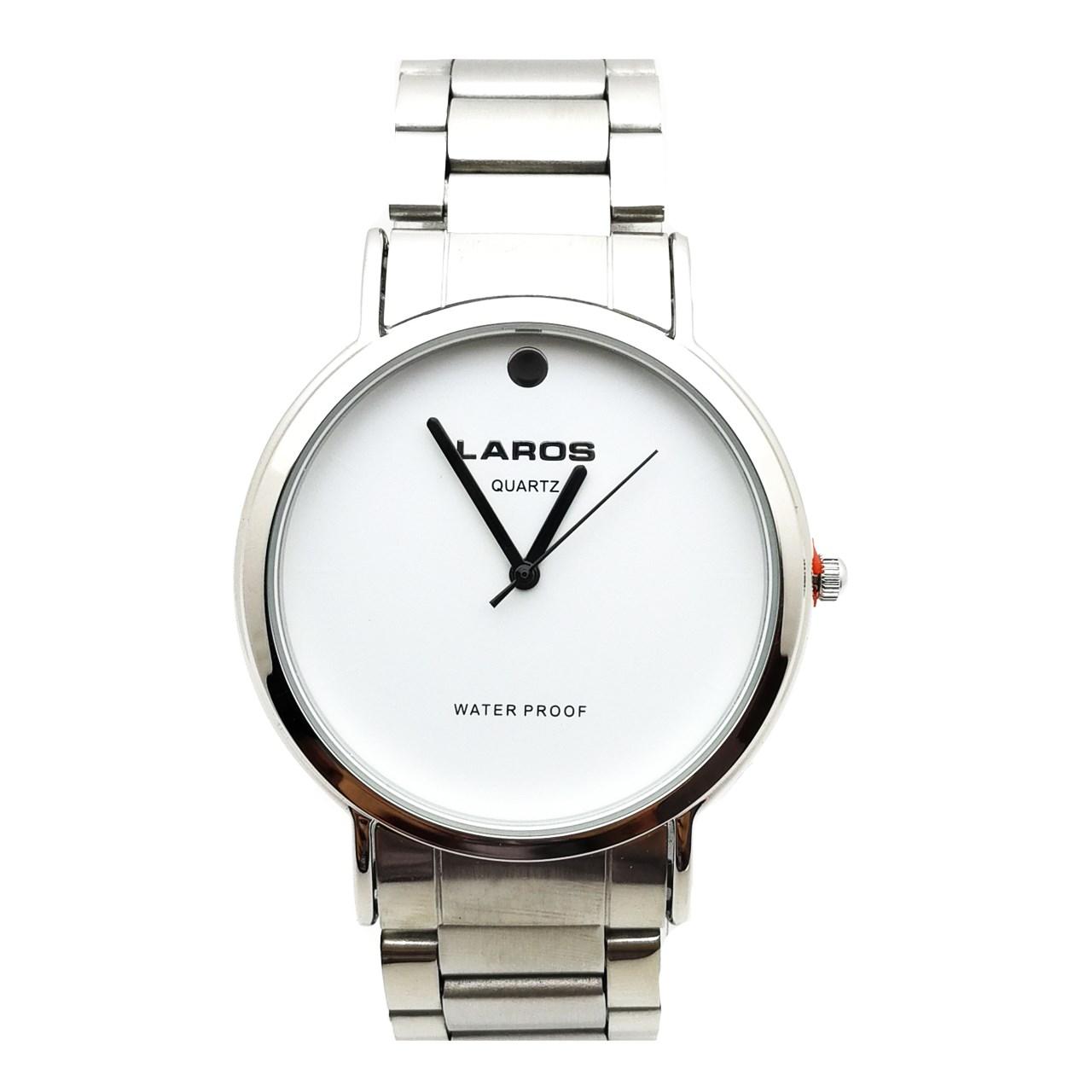 قیمت و خرید                      ساعت مچی عقربه ای مردانه لاروس مدل LM-N614-Black