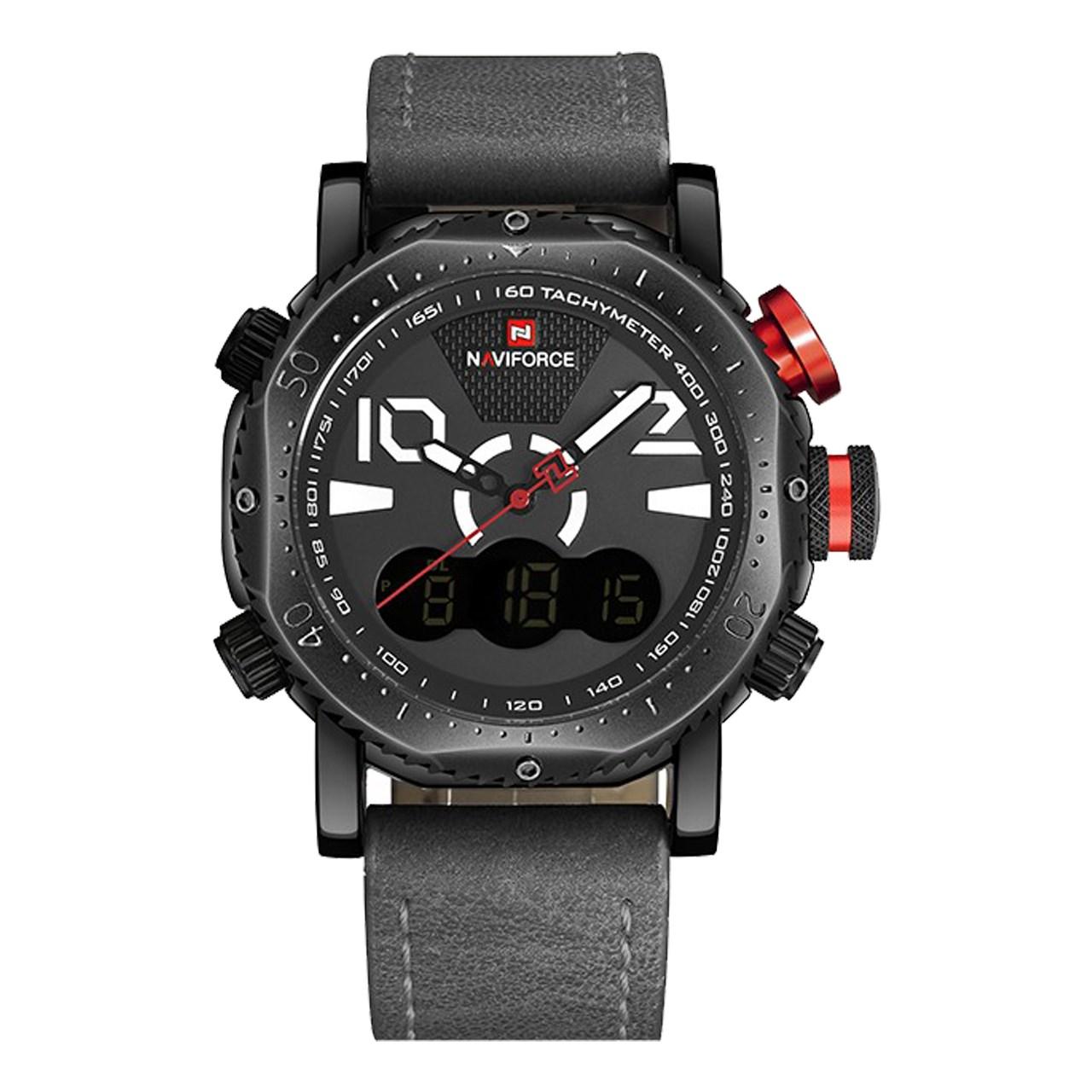 ساعت مچی عقربه ای مردانه نیوی فورس مدل NF9094M/GBW