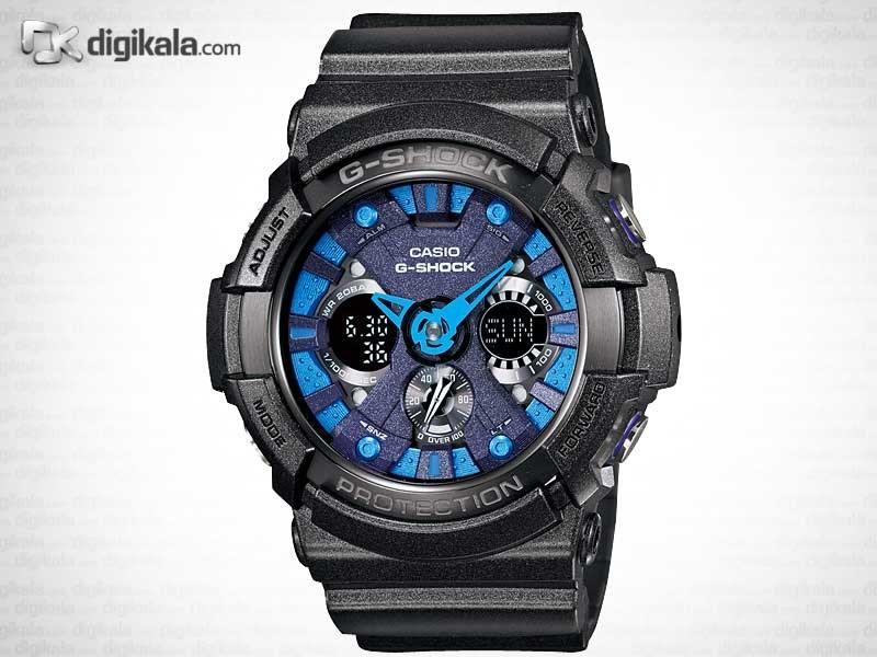 خرید ساعت مچی عقربه ای مردانه کاسیو GA-200SH-2A