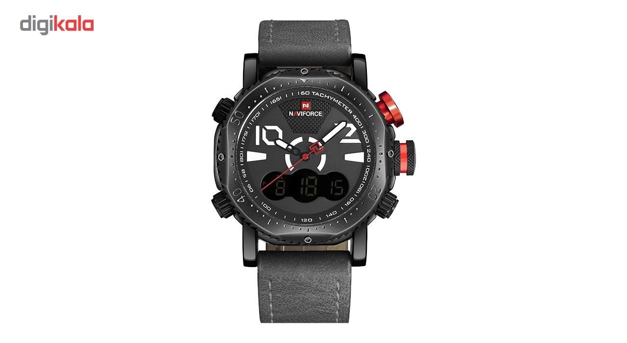 خرید ساعت مچی عقربه ای مردانه نیوی فورس مدل NF9094M/GBW