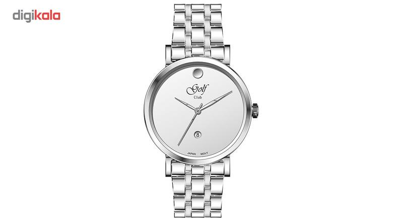 ساعت مچی عقربه ای مردانه گلف مدل G0117-5