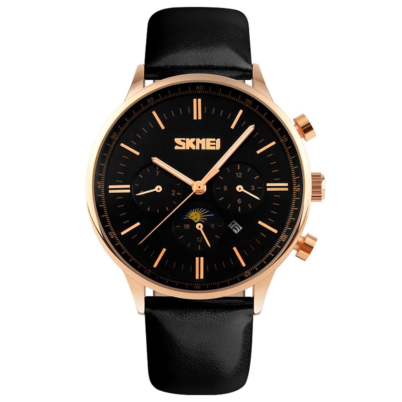 ساعت مچی عقربه ای مردانه اسکمی مدل S9117/Black 9