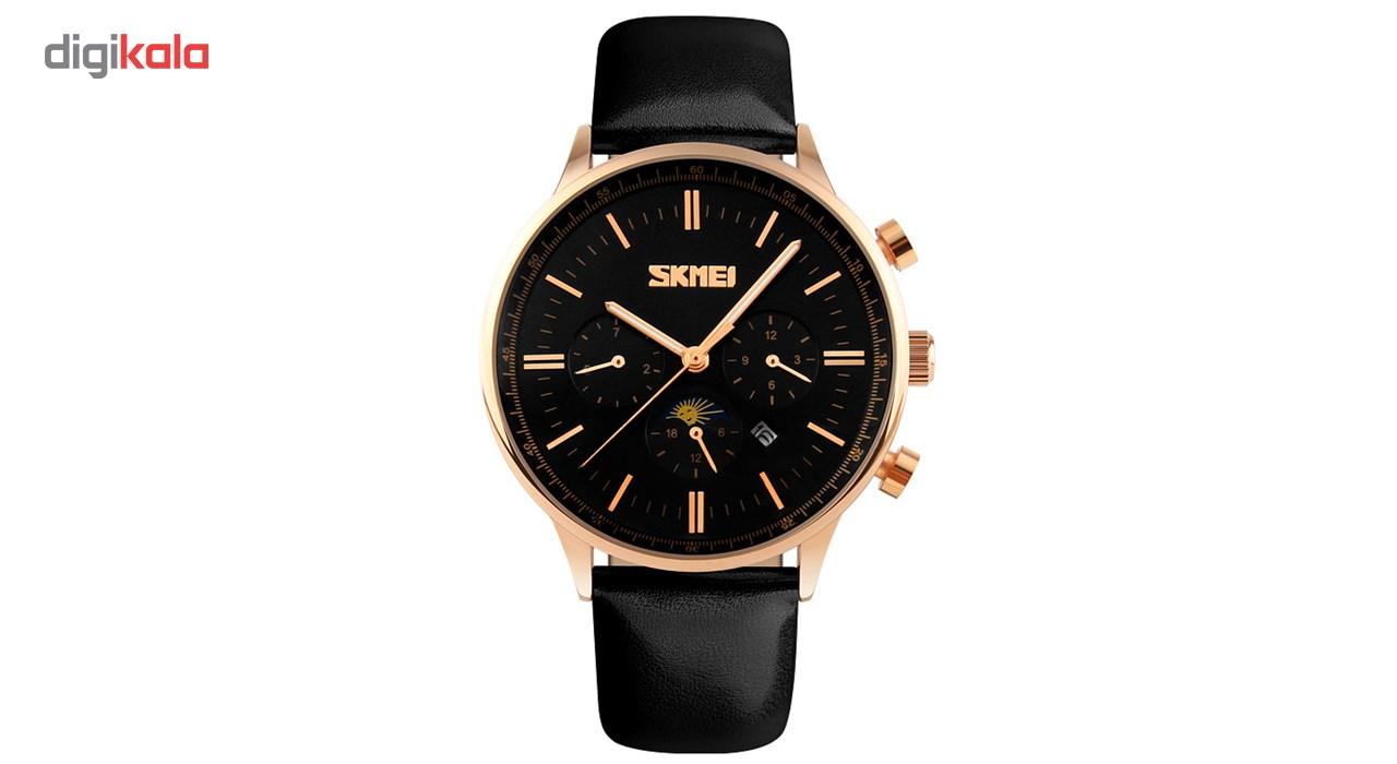 خرید ساعت مچی عقربه ای مردانه اسکمی مدل S9117/Black