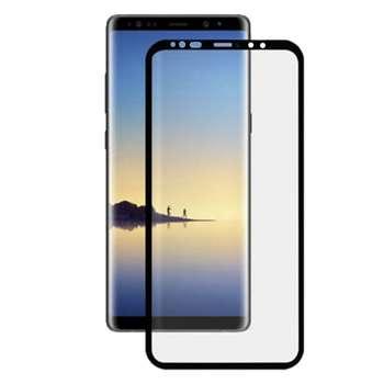 محافظ صفحه نمایش مدل3D Black  مناسب برای گوشی موبایل سامسونگ Galaxy S9
