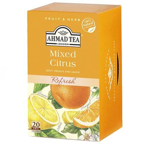 بسته دمنوش چای احمد مدل Mixed Citrus