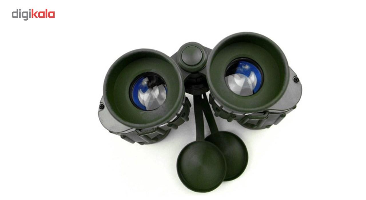 دوربین دو چشمی SEEKER  مدل MILITARY MARINE 8X42