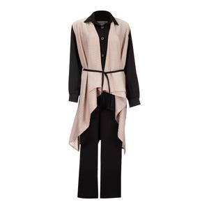 ست 3 تکه لباس زنانه السانا مدل روژیار کد 82801