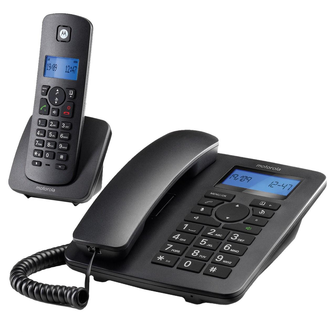 خرید                     تلفن بی سیم موتورولا مدل C4201 Combo