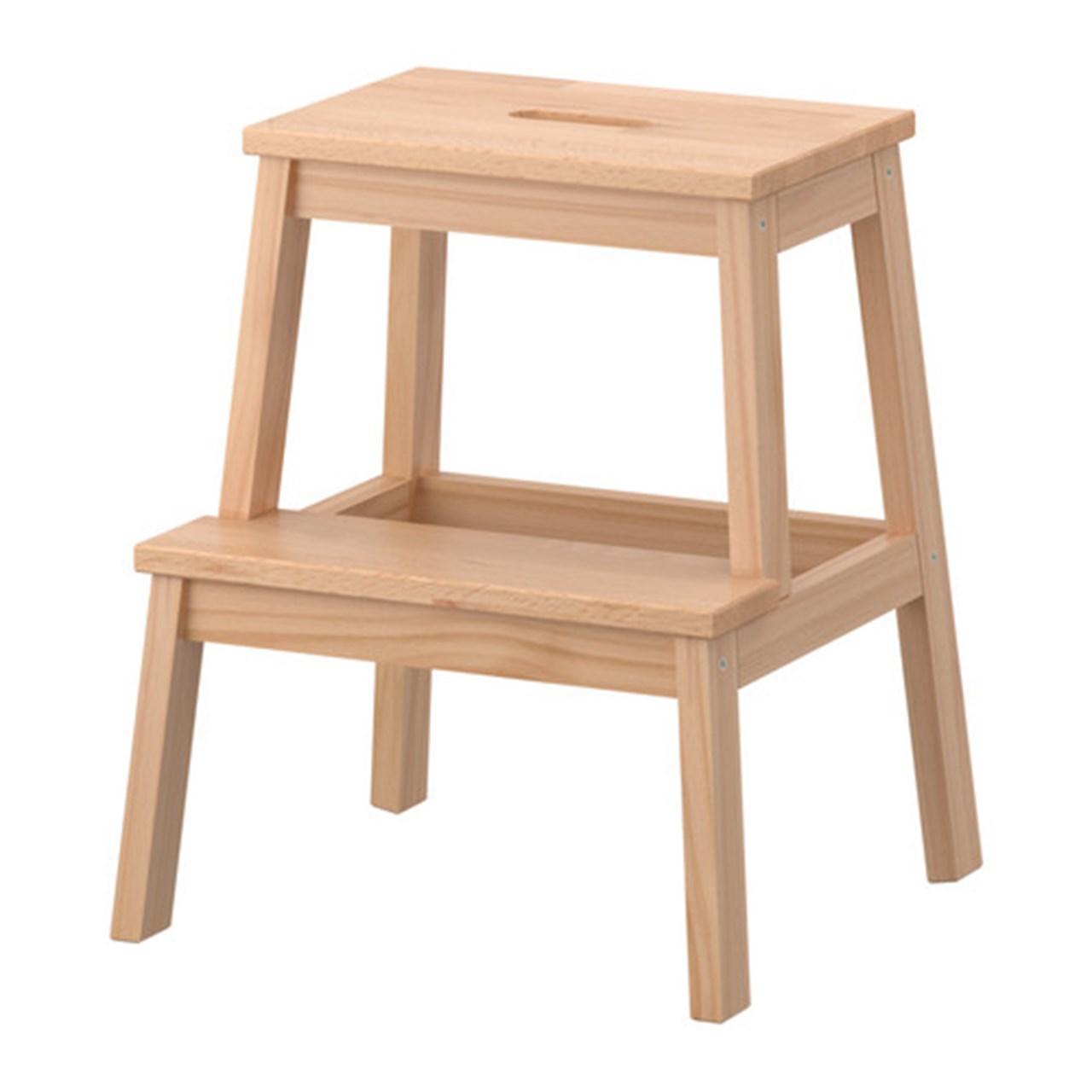 چهارپایه چوبی ایکیا مدل BEKVAM