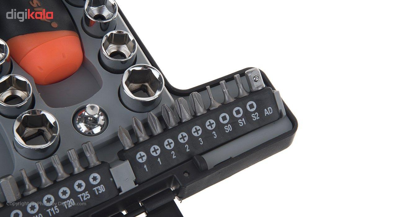 مجموعه 46 عددی ابزار هوراسدی مدل SDY-94180 main 1 6