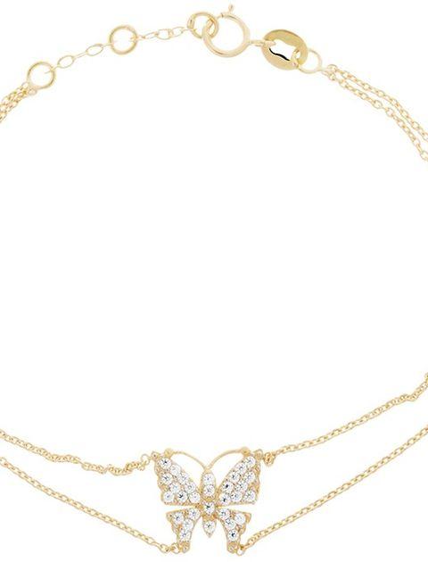 دستبند طلا 18 عیار ماهک مدل MB0262 -  - 2
