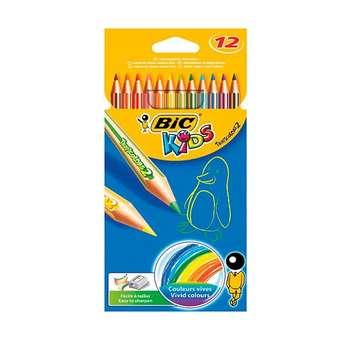 مداد رنگی 12 رنگ بیک سری کیدز مدل تروپی کالرز 2