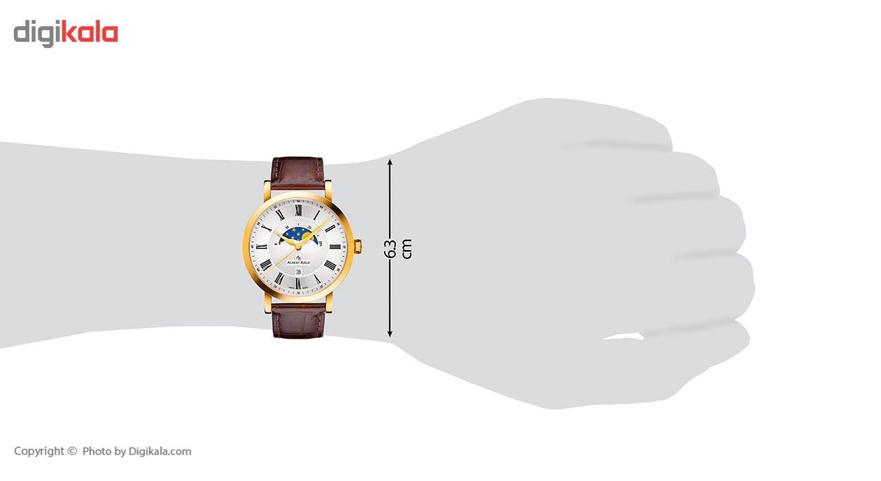 ساعت مچی عقربه ای مردانه آلبرت ریله مدل 321GQ13-SY33R-LN