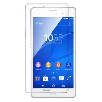 محافظ صفحه نمایش شیشه ای تمپرد مناسب برای گوشی موبایل سونی Xperia Z3