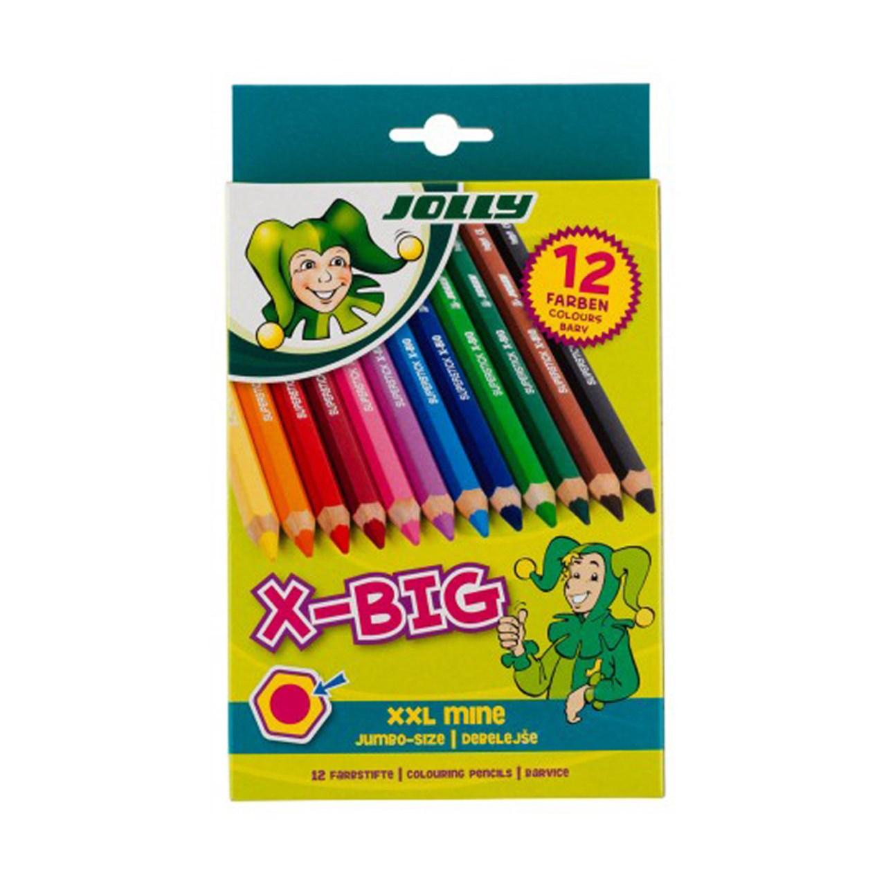مداد رنگی 12 رنگ جولی مدل 0001-3099