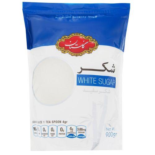 شکر سفید گلستان مقدار 900 گرمی