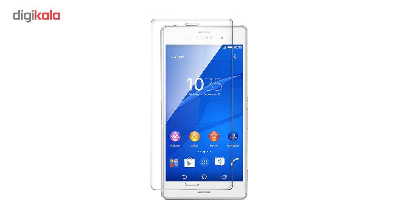 محافظ صفحه نمایش شیشه ای تمپرد مناسب برای گوشی موبایل سونی Xperia Z3 main 1 1