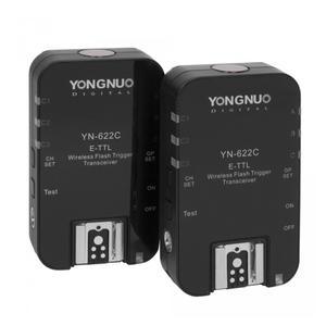 تریگر فلاش وایرلس یونگنو مدل YN-622C E-TTL مناسب برای دوربین های کانن