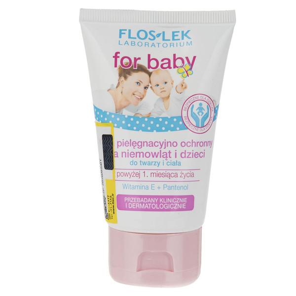 کرم محافظت پوست کودکان و نوزادان فلوس لک مدل For Baby حجم 60 میلی لیتر
