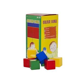 بازی آموزشی بافرزندان مدل مکعب های رنگی 16 عددی
