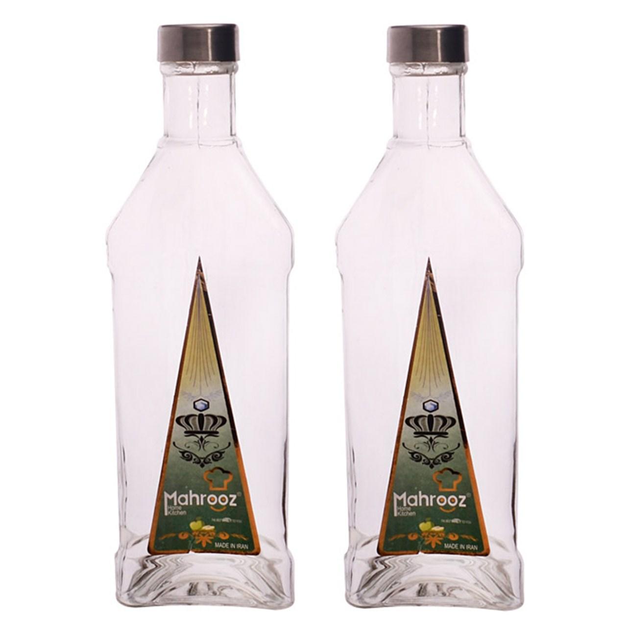 بطری مهروز مدل Bermuda - بسته 2 عددی