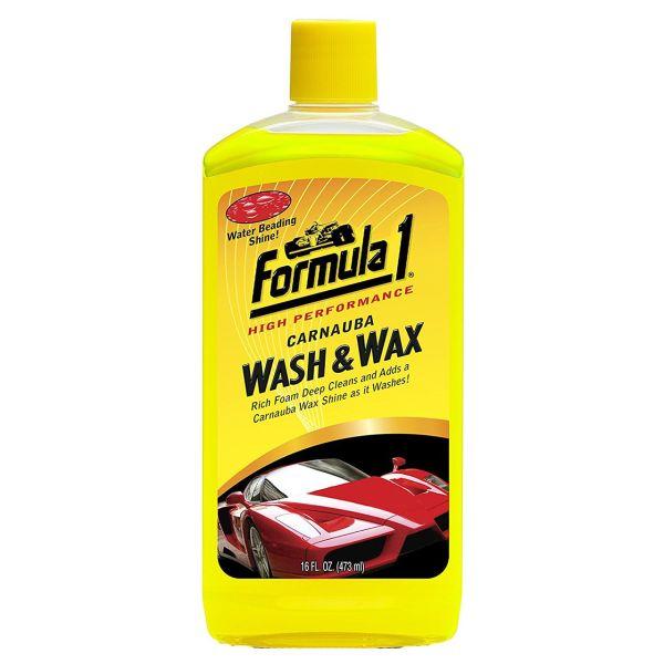 شامپو شست و شو خودرو فرمول وان مدل Wash And Wax 652815 - حجم 473 میلی لیتر