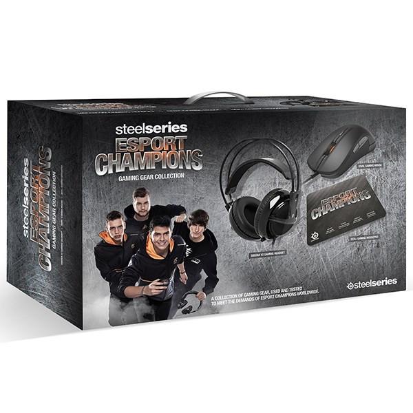 باندل مخصوص بازی استیل سریز مدل Esport Champions Gaming Gear