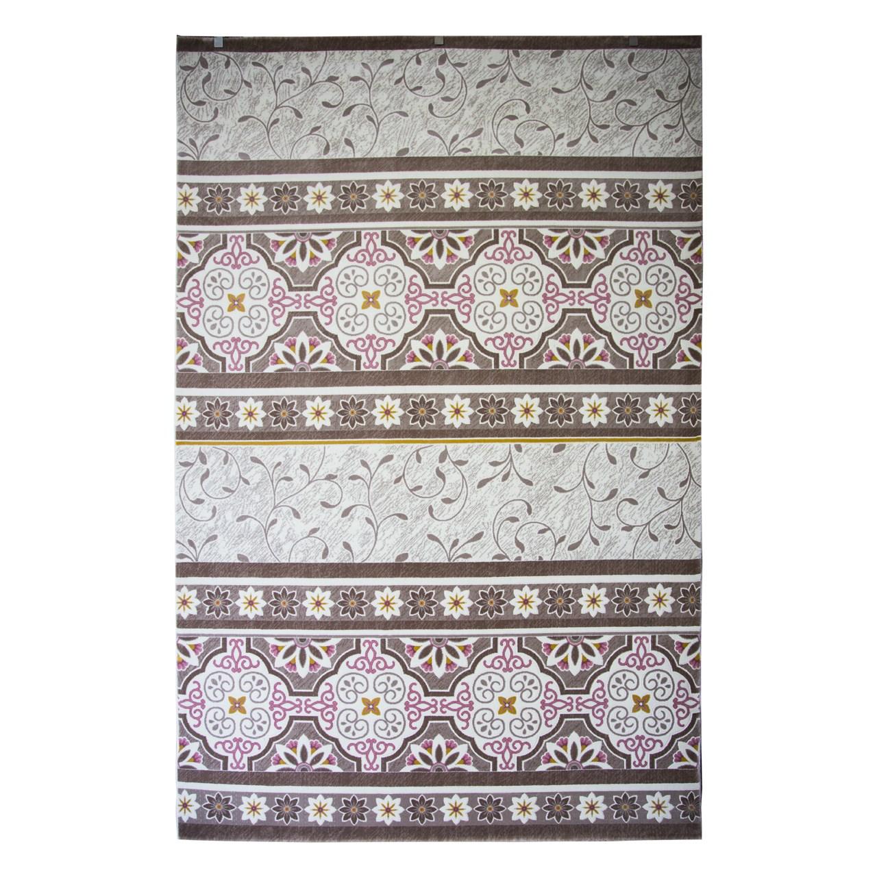 فرش ماشینی ساوین کد 1502 زمینه صورتی
