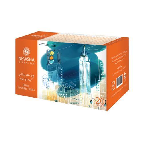 بسته چای پرتقالی نیوشا مدل Orange