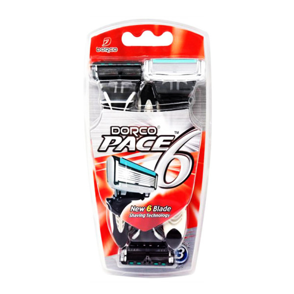 خودتراش دورکو مدل PACE 6 بسته 3 عددی