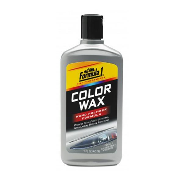 واکس رنگی فرمول وان مدل 688730 مناسب برای خودرو های نقره ای - حجم 473 میلی لیتر