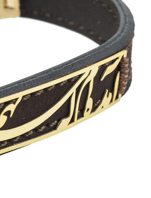 دستبند طلا 18 عیار ماهک مدل MB0440 -  - 3
