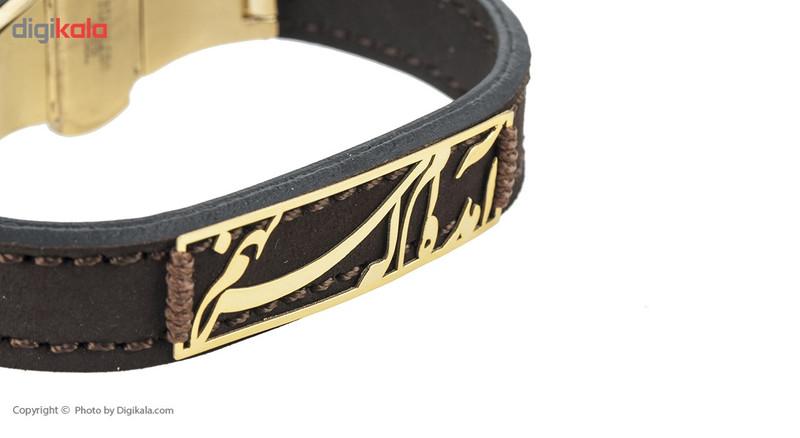 دستبند طلا 18 عیار ماهک مدل MB0440