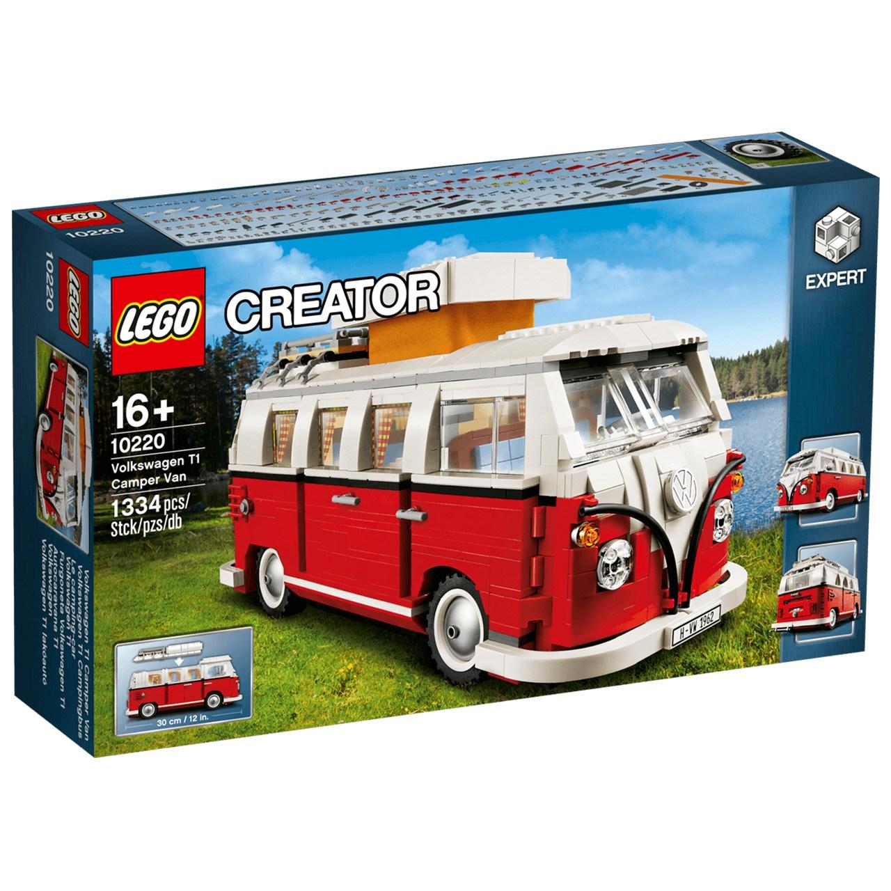 لگو سری Creator مدل Volkswagen T1 Camper Van 10220 Lego