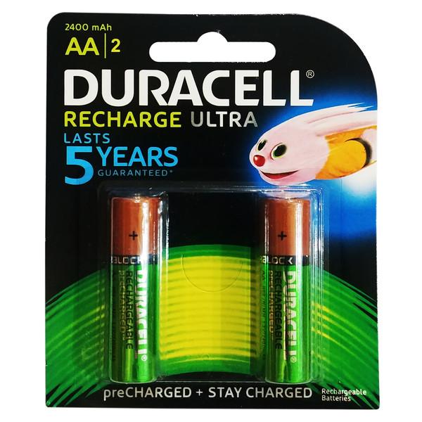 باتری قلمی قابل شارژ دوراسل مدل Ultra بسته 2 عددی