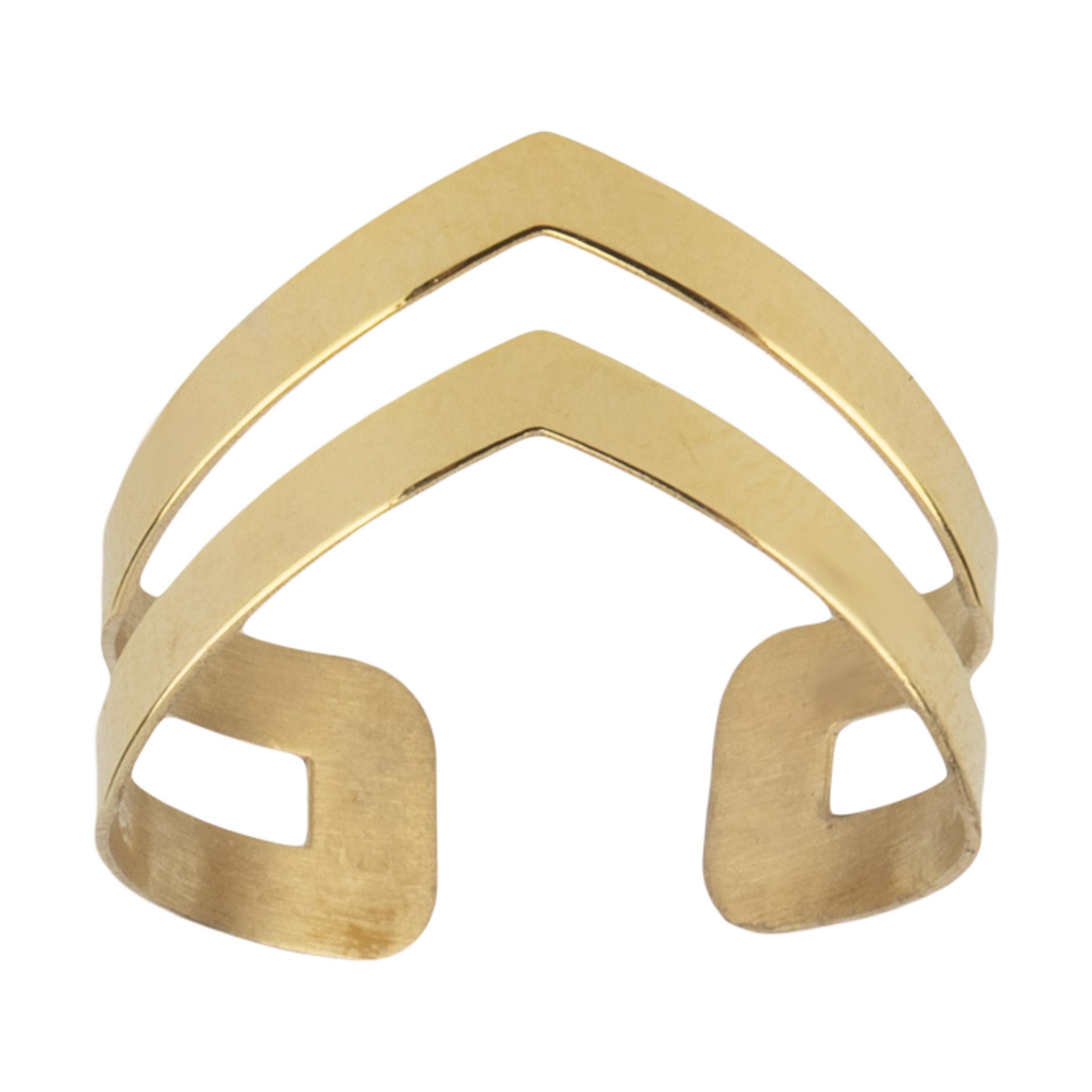 انگشتر طلا 18 عیار زنانه نیوانی مدل NR030