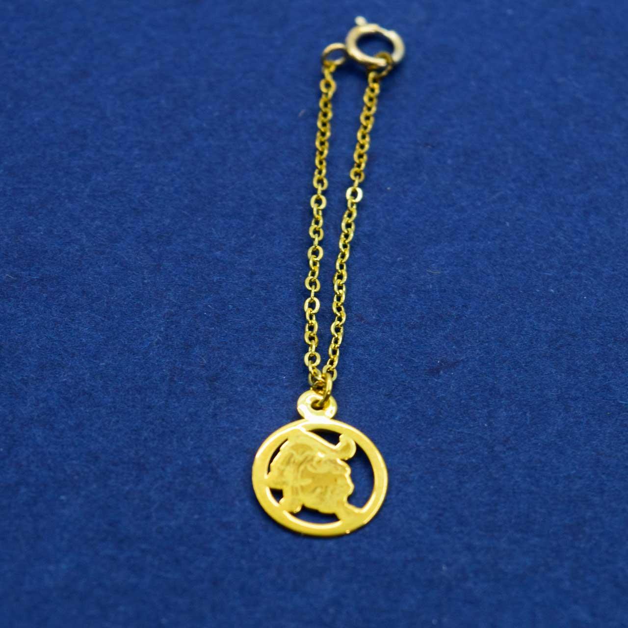 آویز ساعت طلا 18 عیار زنانه کانیار گالری مدل AS90