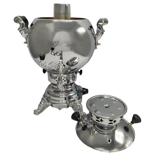 سماور گازی پژمان کد 20104 گنجایش 6 لیتر