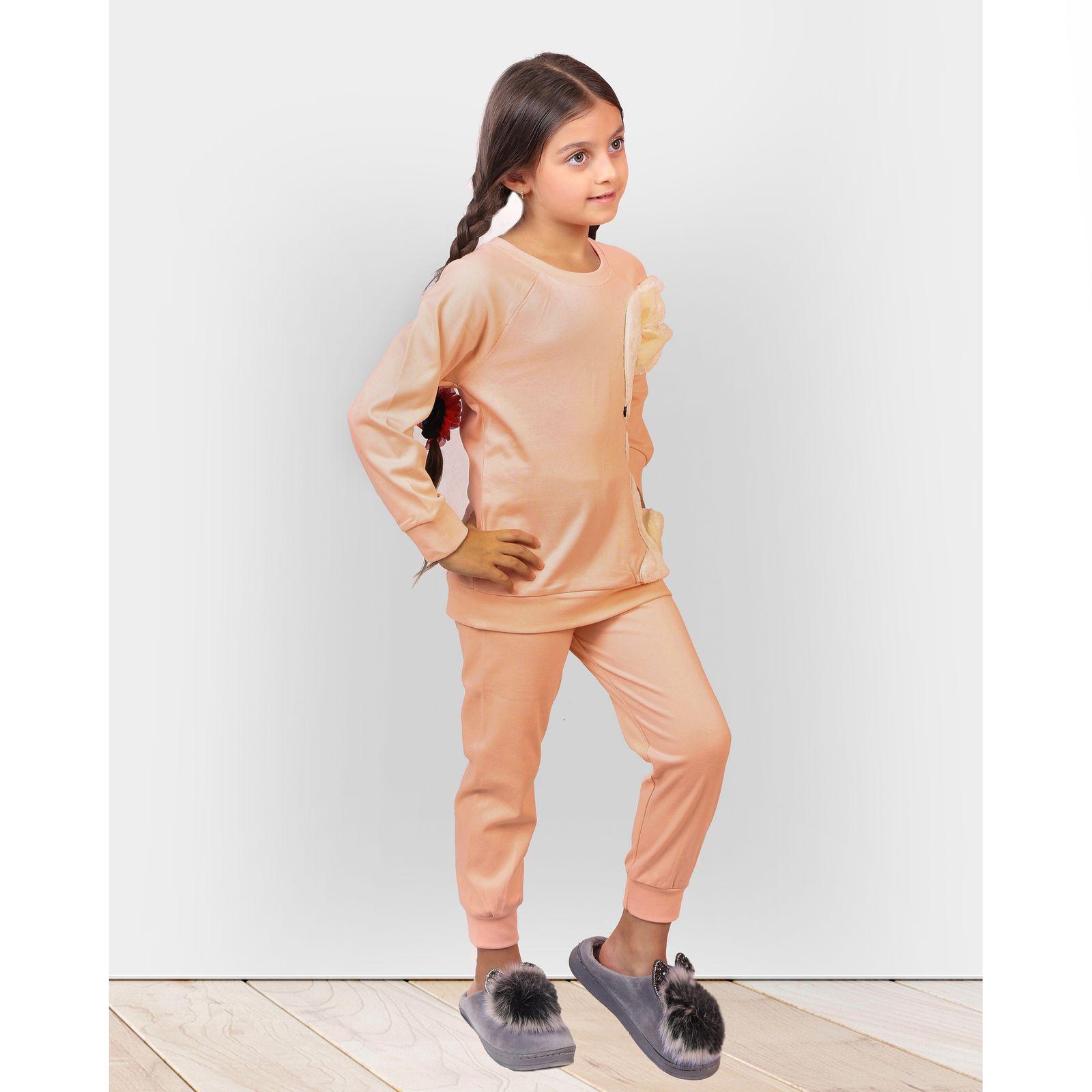 ست تی شرت و شلوار دخترانه مادر مدل 302-80 main 1 11