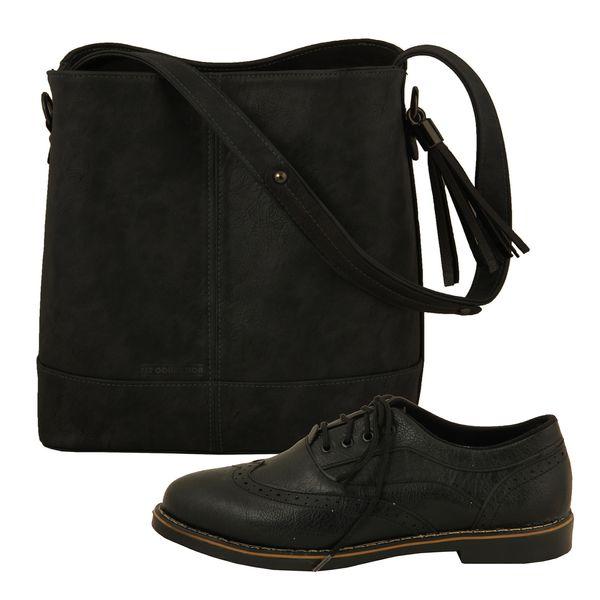 ست کیف و کفش زنانه ست کالکشن مدل هشترک