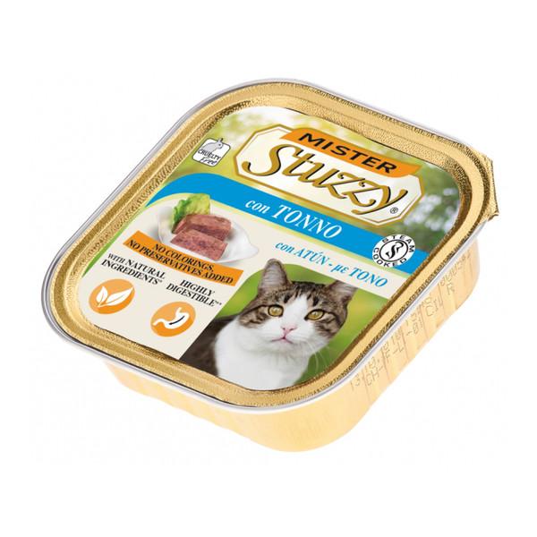 کنسرو غذای گربه استوزی مدل ماهی تن وزن 100 گرم