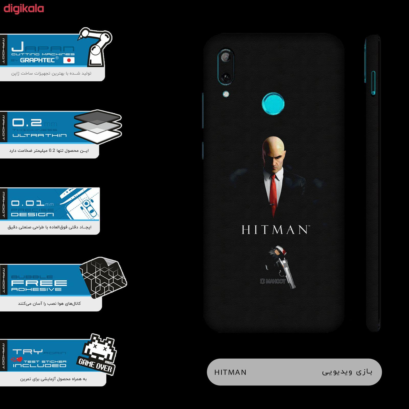 برچسب پوششی ماهوت مدل Full skin-HITMAN-Game مناسب برای گوشی موبایل هوآوی  Y7 Prime 2019