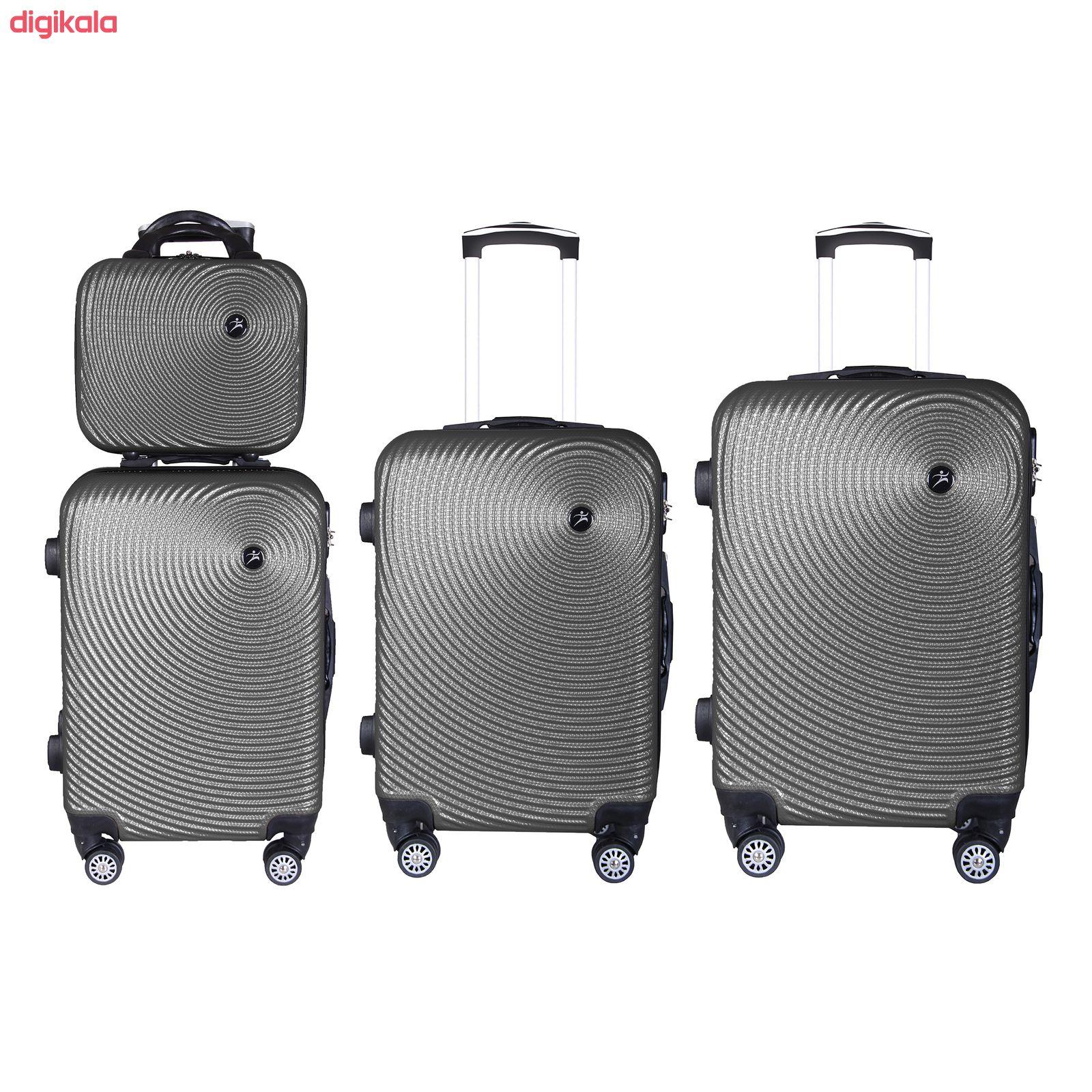 مجموعه چهار عددی چمدان اسپرت من مدل NS001 main 1 3