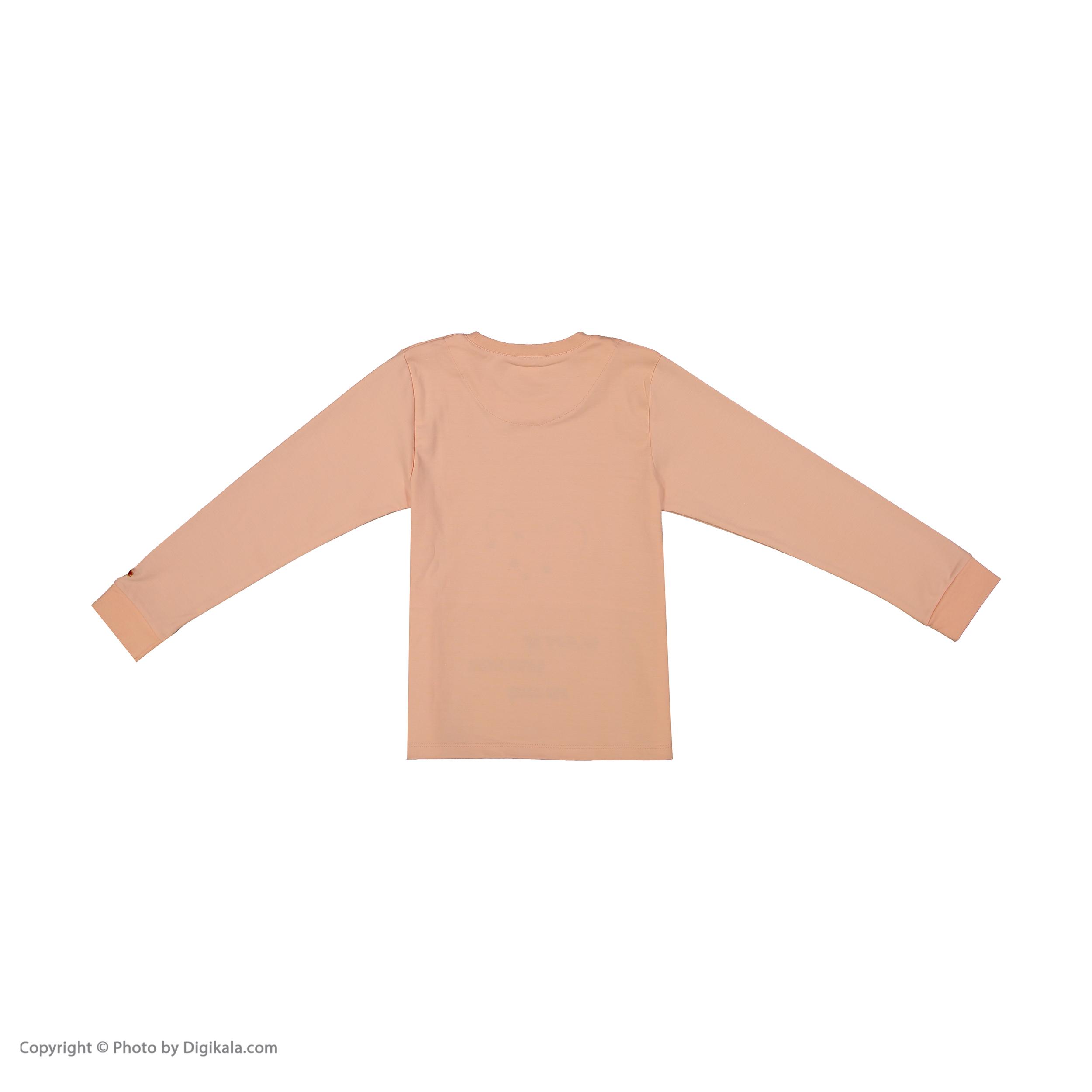 ست تی شرت و شلوار دخترانه مادر مدل 301-80 main 1 3